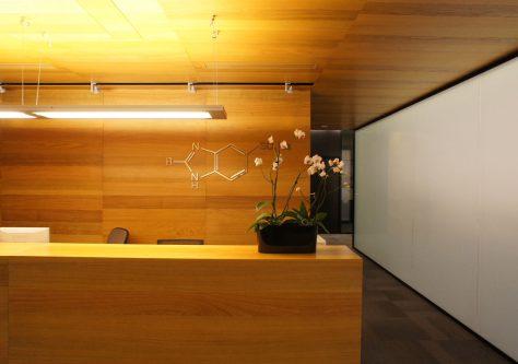 Офис химической компании